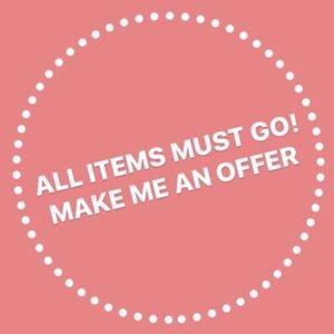 Let's make a deal. Make an offer